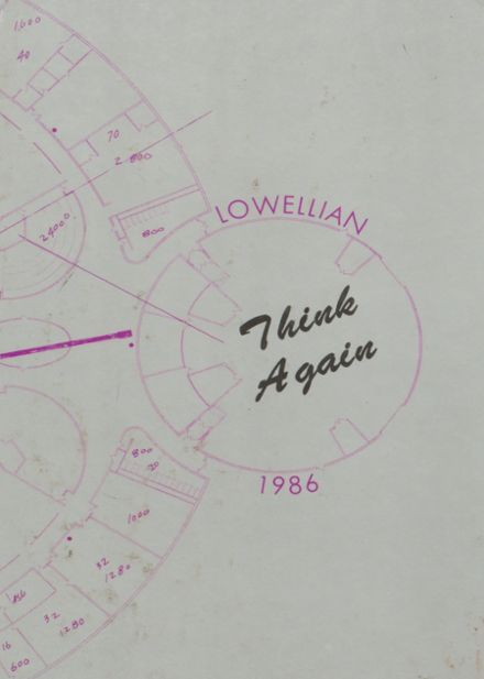 1986 Lowell High School Yearbook Cover
