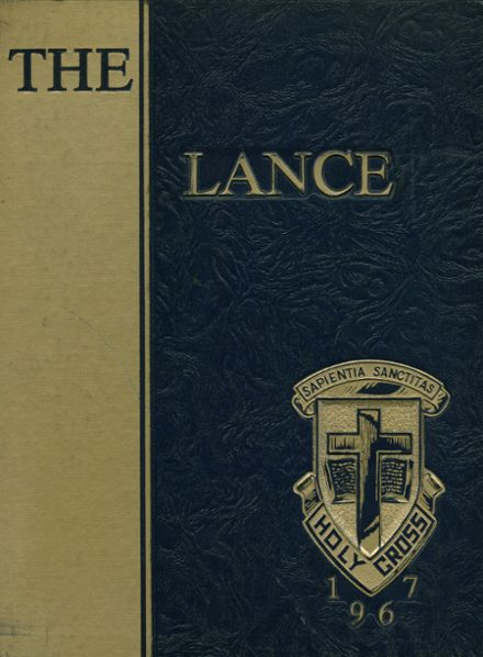 1967 Holy Cross High School Yearbook Cover