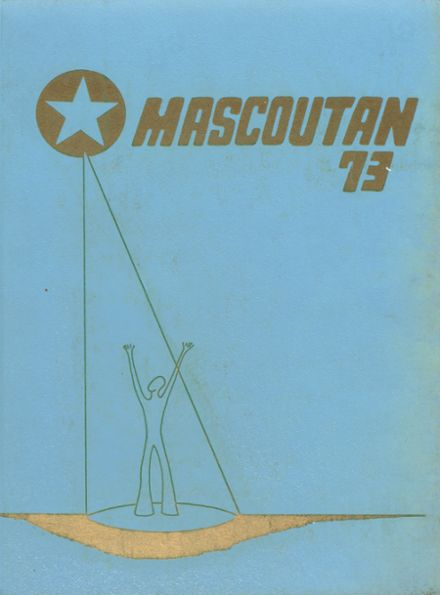 1973 Mascoutah High School Yearbook Cover