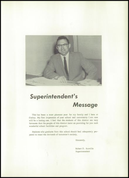 1962 Gurley School Yearbook Page 7
