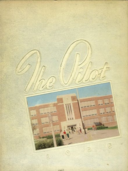 1955 Norview High School Yearbook Cover