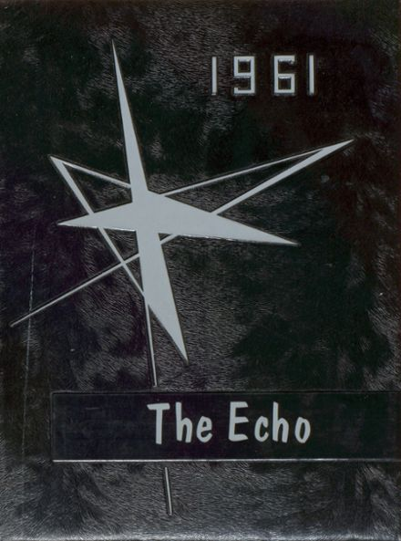 1961 Plains High School Yearbook Cover
