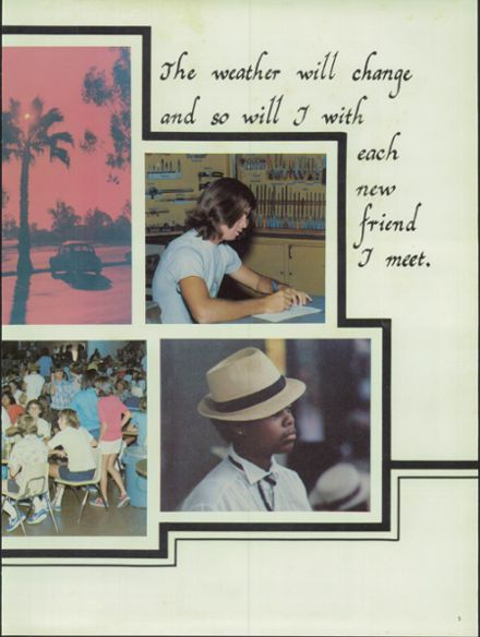 1980 Estancia High School Yearbook Page 9