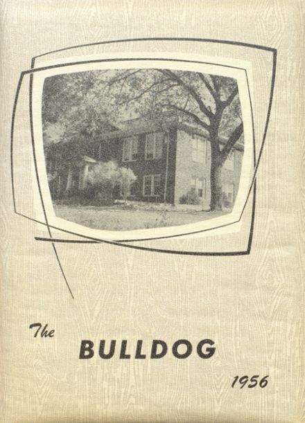 1956 Bratton Union Consolidat High School Yearbook Cover