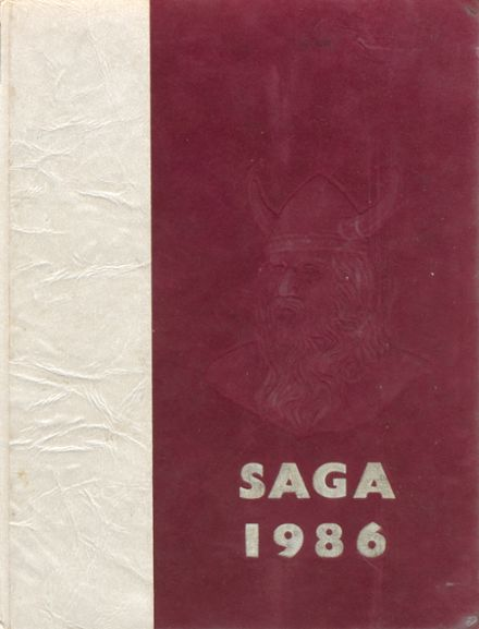1986 Valley High School Yearbook Cover