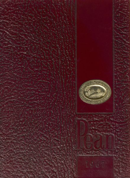 1967 Phillips Exeter Academy Yearbook Cover