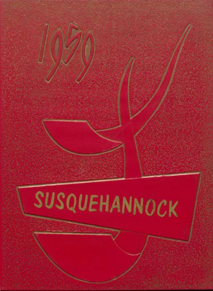 1959 Columbia High School Yearbook Cover