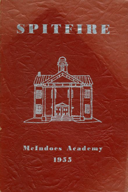 1955 Mcindoes Academy Yearbook Page 1