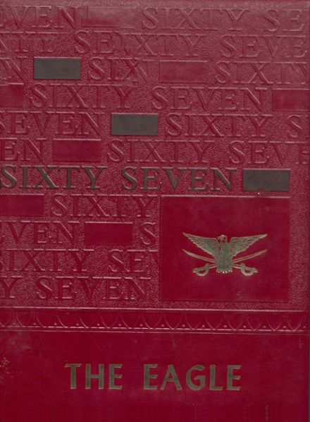 1967 Coldspring High School Yearbook Cover