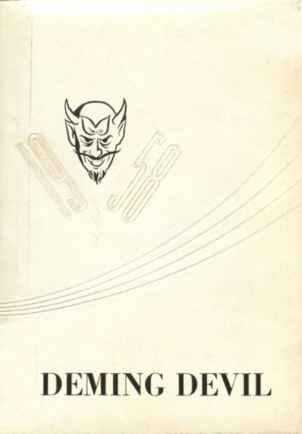1958 Deming High School Yearbook Cover