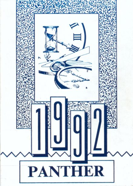 1992 Jal High School Yearbook Cover