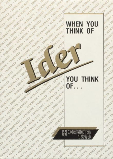 1990 Ider High School Yearbook Cover