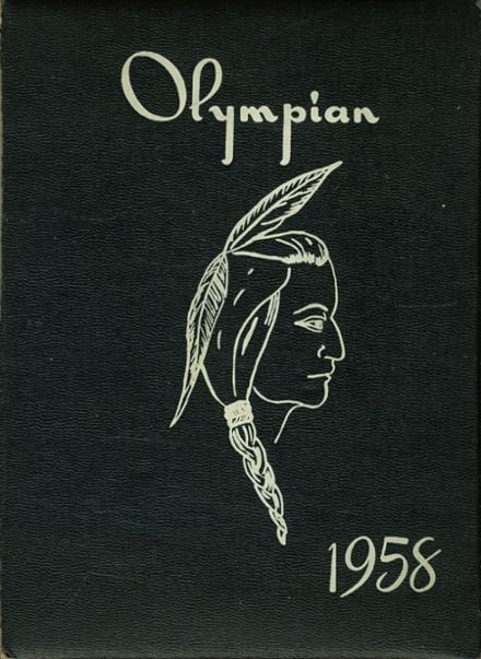 1958 Milan High School Yearbook Cover