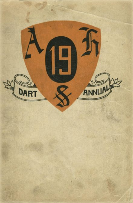 1919 Ashtabula High School Yearbook Cover