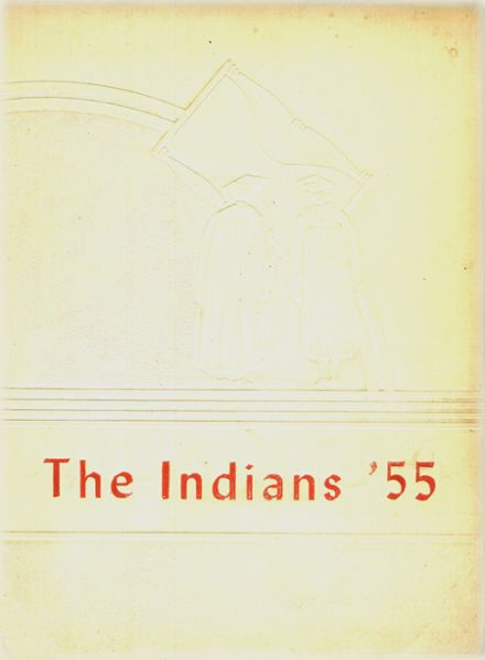 1955 Pineland High School Yearbook Cover