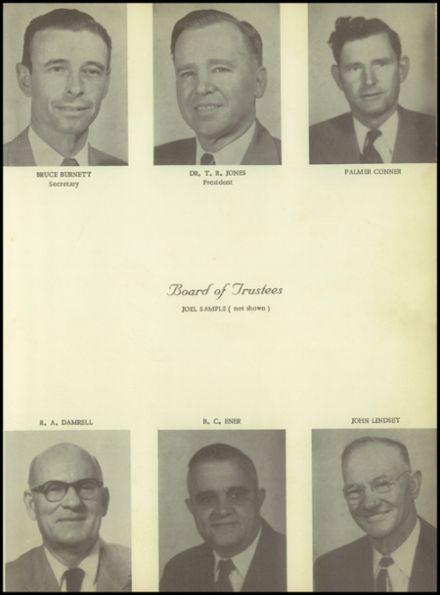 1955 Pineland High School Yearbook Page 9