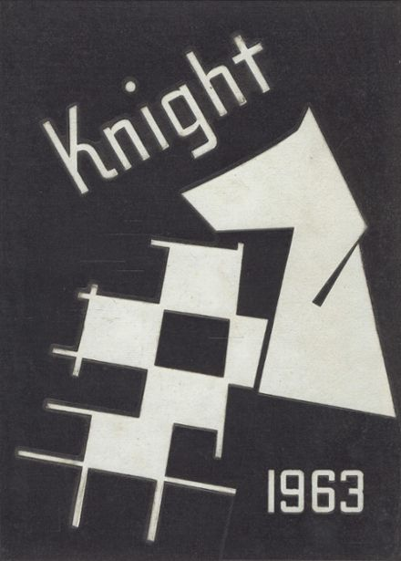 1963 Catholic Memorial High School Yearbook Cover