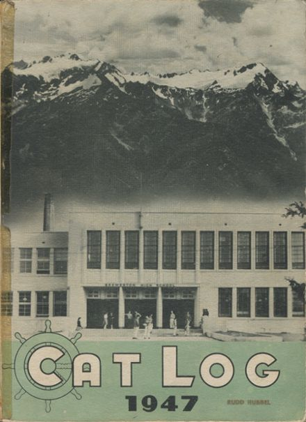 1947 Bremerton High School Yearbook Cover