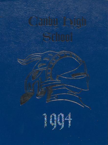 1994 Canby High School Yearbook Cover
