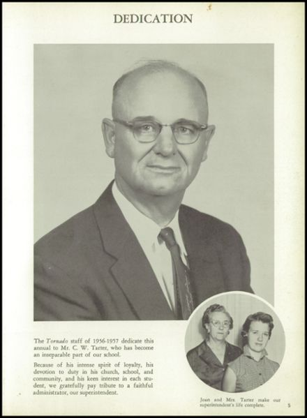 1957 Lamesa High School Yearbook Page 9