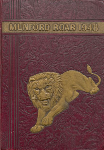 1948 Munford High School Yearbook Cover
