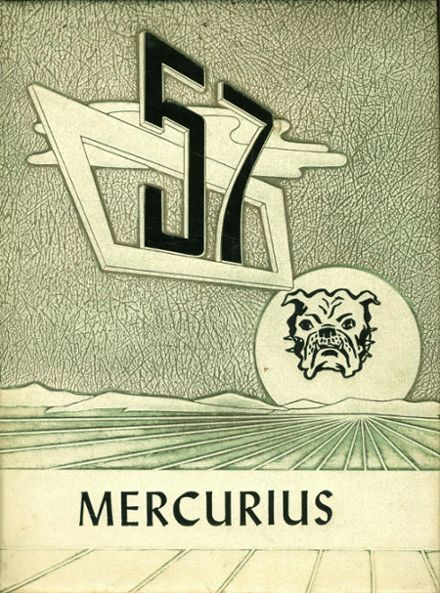 1957 Bridgewater Classical Academy Yearbook Cover