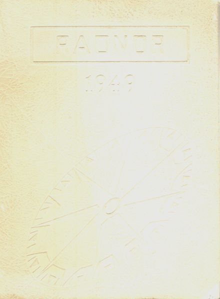 1949 Radnor High School Yearbook Cover