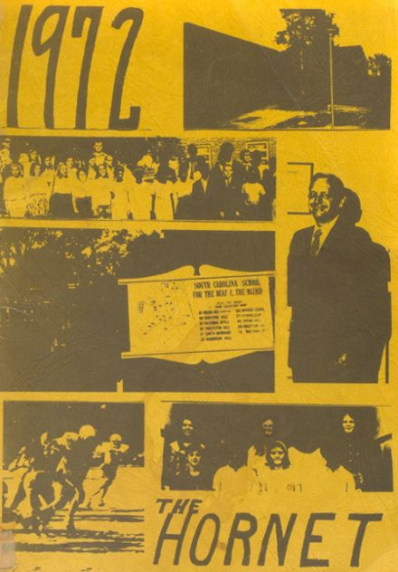 1972 South Carolina School for the Deaf & Blind Yearbook Cover