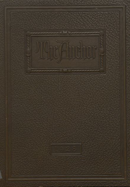 1928 Southport High School Yearbook Cover
