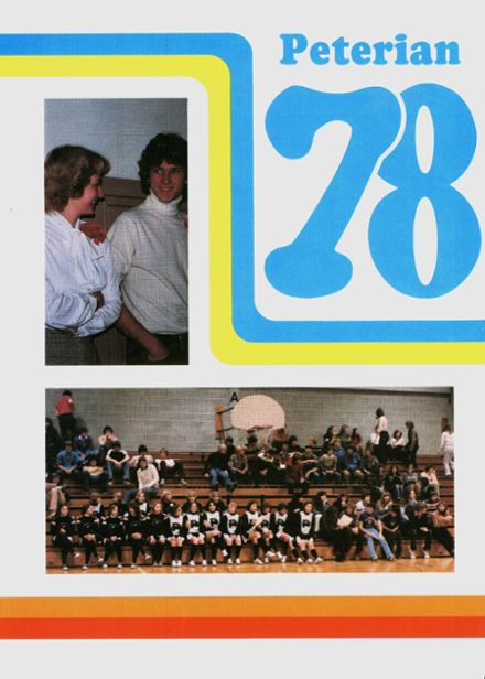 1978 St. Peter High School Yearbook Cover