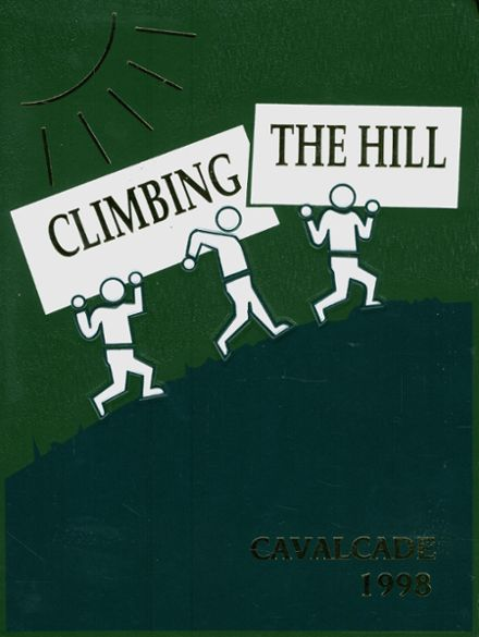 1998 Greenhill School Yearbook Cover