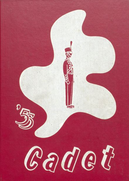 1955 West Point High School Yearbook Cover