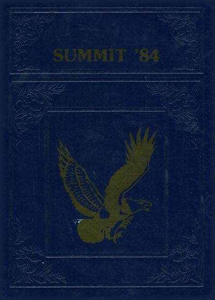1984 New Castle Baptist Academy Yearbook Cover