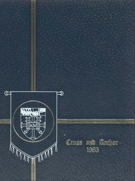 1983 Academy of The Holy Cross Yearbook Cover