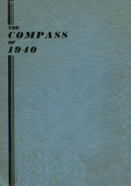 1940 Chadsey High School Yearbook Cover