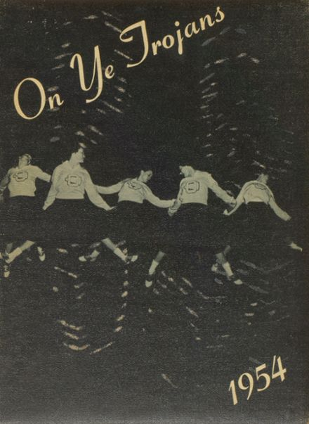 1954 Osawatomie High School Yearbook Cover