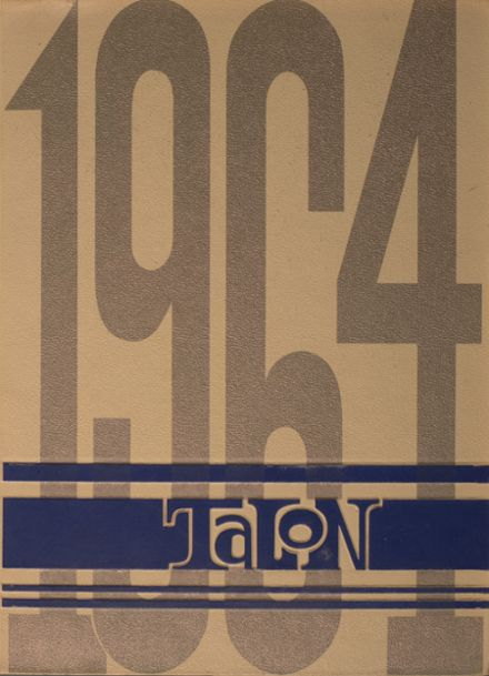 1964 California High School Yearbook Cover