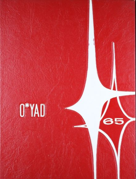 1965 Deerfield High School Yearbook Cover