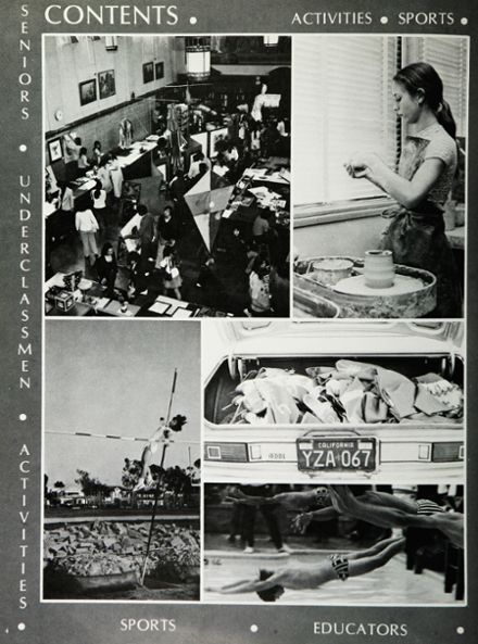 1974 Hollywood High School Yearbook Page 8