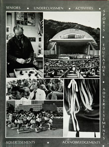 1974 Hollywood High School Yearbook Page 9