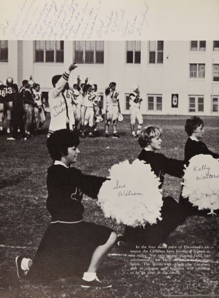 1963 Grover Cleveland High School Yearbook Page 8