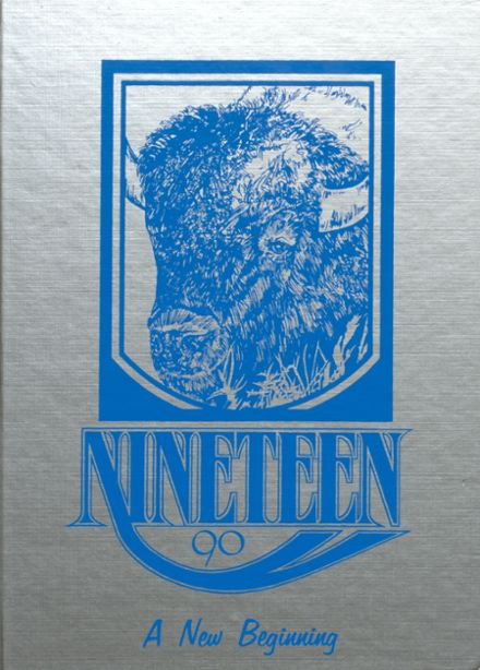 1990 North Iowa High School Yearbook Cover