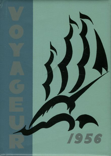 1956 Central Valley High School Yearbook Cover