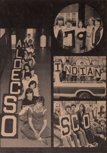 1979 Osceola High School Yearbook Cover