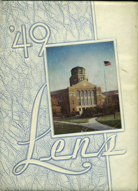 1949 Maine Township High School Yearbook Cover