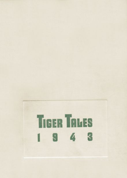 1943 Enumclaw High School Yearbook Cover