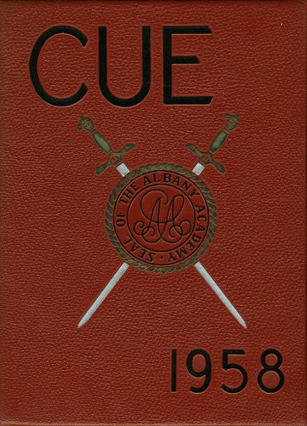 1958 Albany Academy Yearbook Cover