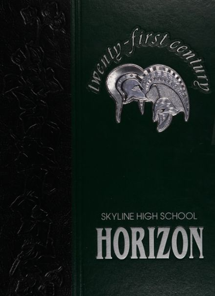 2000 Skyline High School Yearbook Cover