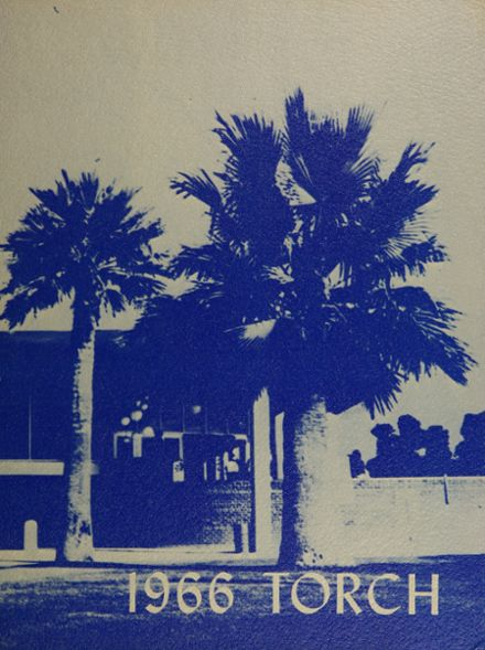 1966 Catalina High School Yearbook Cover