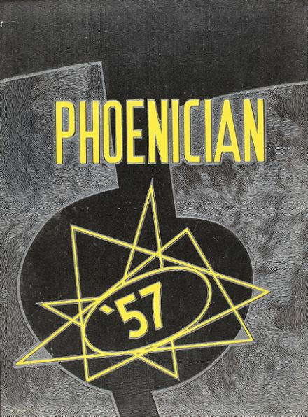 1957 Phoenix Union High School Yearbook Cover
